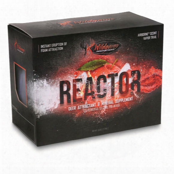 Wildgame Innovations Reactor Two-part Deer Attractant
