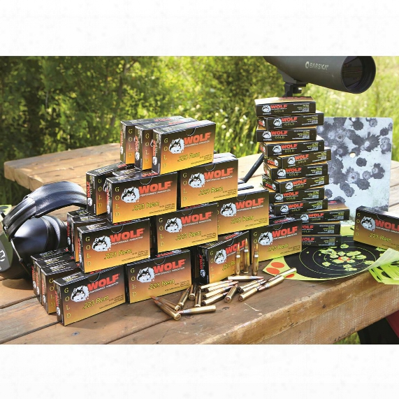 Wolf Gold, .223 Remington, Fmj, 55 Grain, 2,000 Rounds