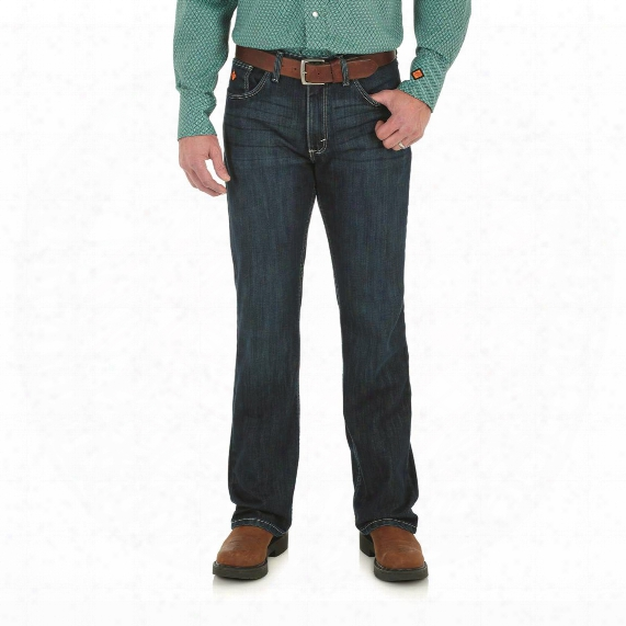 Wrangler Men's Flame Resistant 20x Vintage Boot Jeans