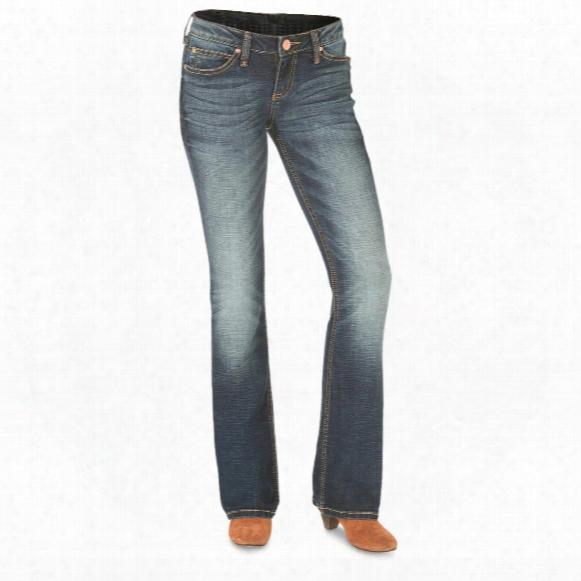 Wrangler Retro Women's Mae Jeans, Low Rise