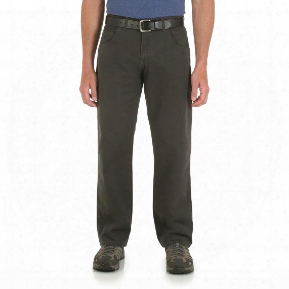 Wrangler Rugged Wear Men's Relaxed Fit Jeans, Mid Rise