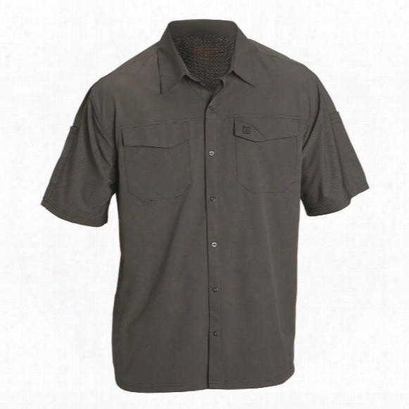 5.11 Tactical Men's Freedom Flex Woven Short-sleeve Shirt