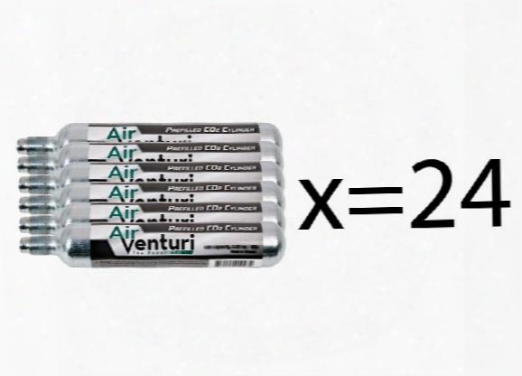 Appearance Venturi 90g Co2 Cylinder Bulk Pack, 24ct