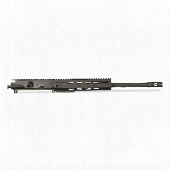 "Anderson 16"" Heavy Barrel Diamond Upper Receiver Assembly Less Bcg And Charging Handle, .223 Wylde"