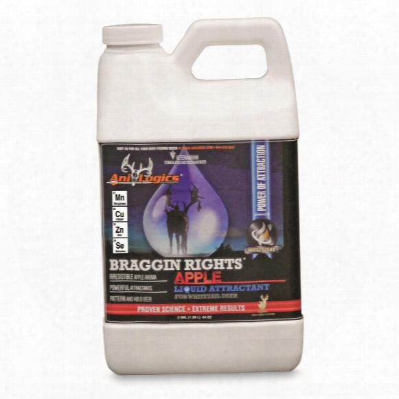 Ani-logics Liquid Braggin' Rights Deer Attractant, 1/2 Gallon Jug