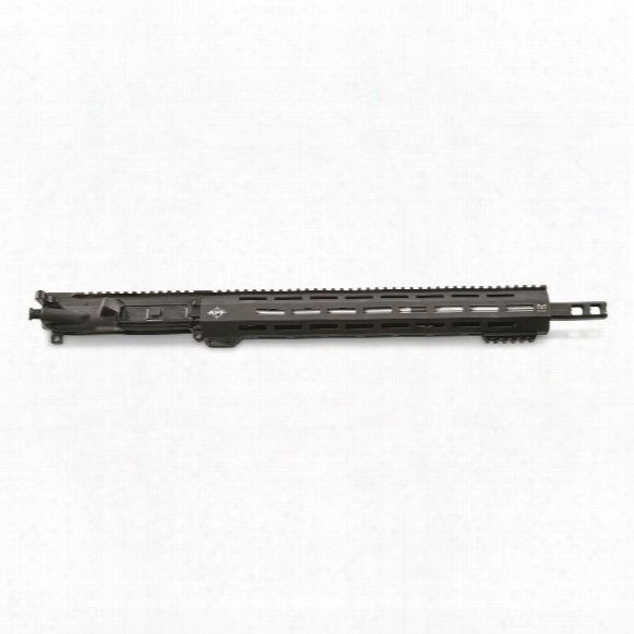 "Apf Match Carbine 16"" Stainless Barrel Complete Upper Receiver, .223 Wylde, M-lok Handguard"