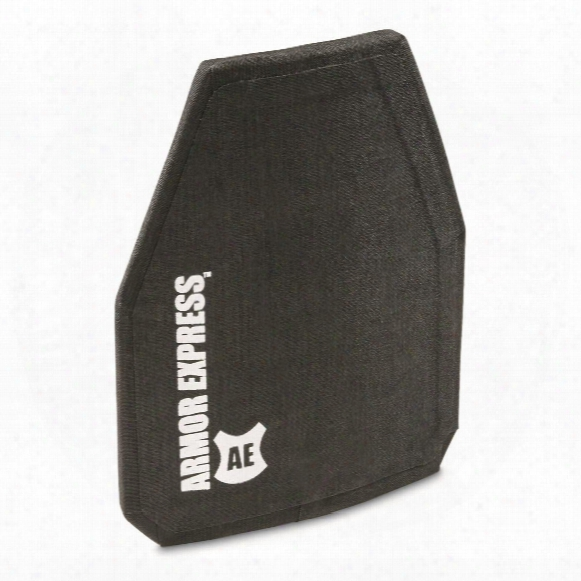 """Armor Express H-shock Special Threat Armor Plate, 10x12"""" Shooters Cut"""