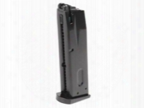 Asg / Kj Works M9 Gas Blowback Airsoft Pistol Magazine, 25 Rds