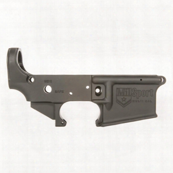 Ati Ar15 Milsport Stripped Lower Receiver, Multi-caliber