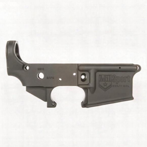 Ati Ar15 Milsport Stripped Lower Receiver, Multi-caliber