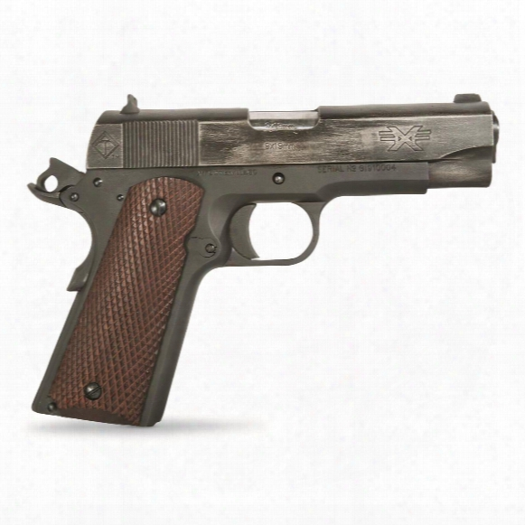 "Ati Fx9 Firepower Xtreme Gi 1911, Semi-automatic, 9mm, 4.25"" Barrel, Battle-worn Finish, 9+1 Rounds"