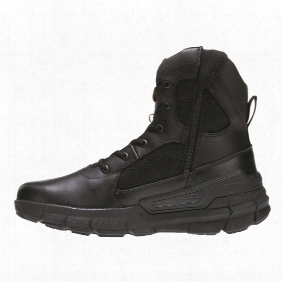 "Bates Men's 8"" Charge Side-zip Tactical Boots"