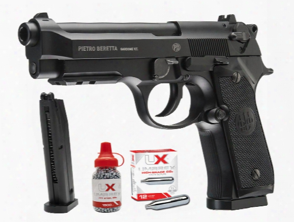 Beretta 92a1 Co2 Full Auto Bb Pistol Combo