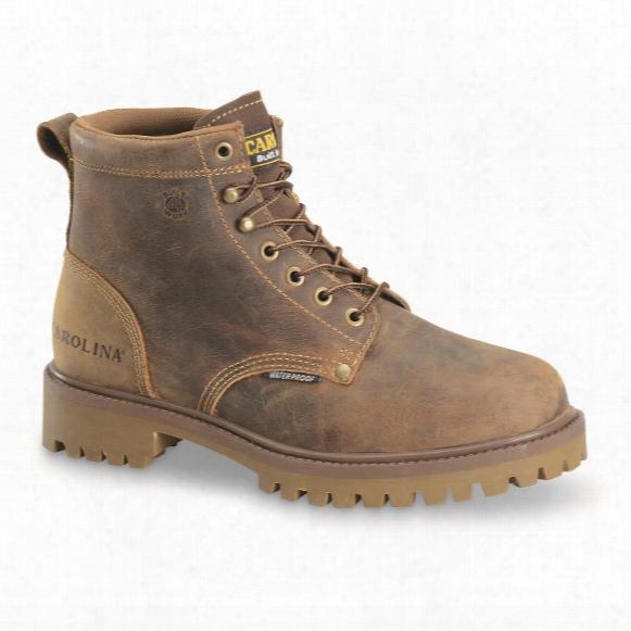 "Carolina Men's Waterproof 6"" Work Boots"