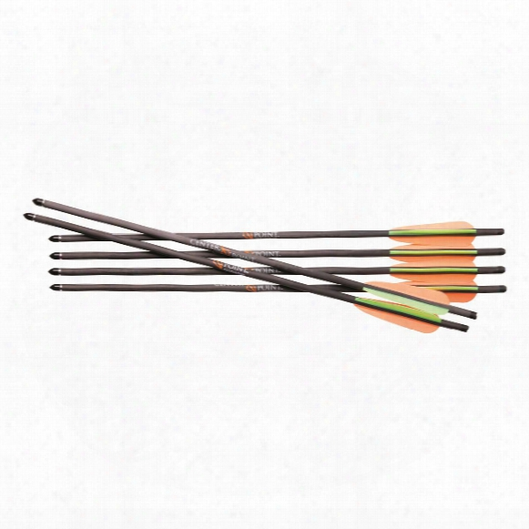 Centerpoint Carbon Crossbow Arrows, 425 Grain, 20 Inch, 6 Pack