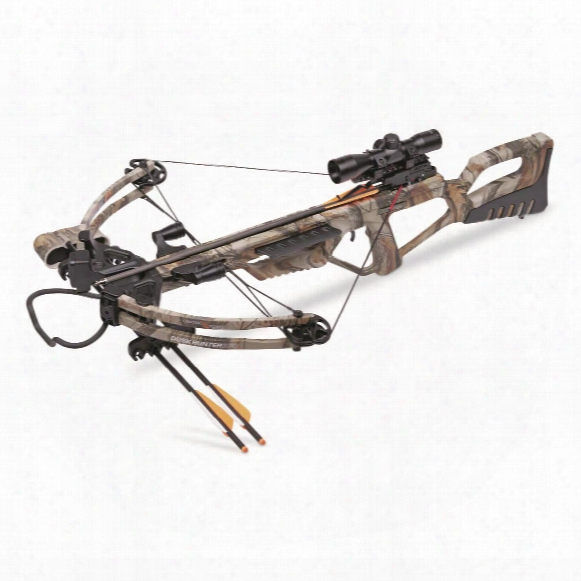Centerpoint Dusk Hunter 370 Crossbow Package, 4x32mm Scope