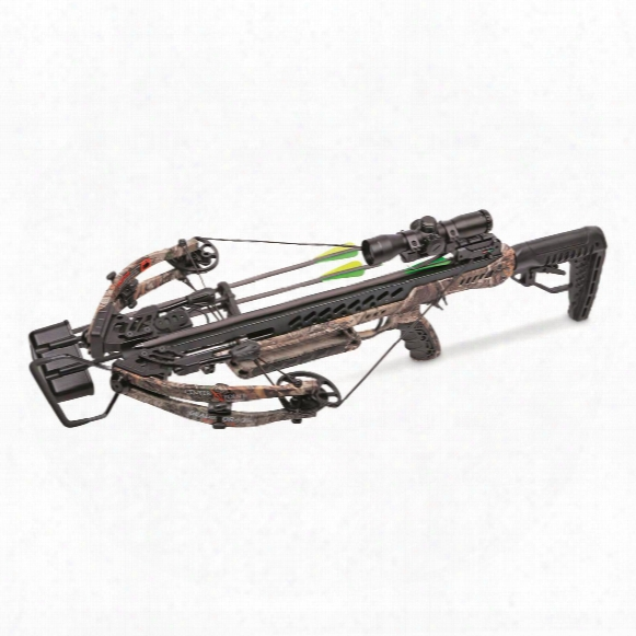 Centerpoint Gladiator Whisper 405 Crossbow Package, 4x32mm Scope