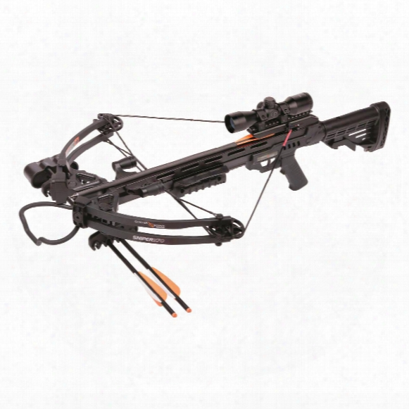 Centerpoint Sniper 370 Crossbow Package, 4x32mm Scope, 185-lb. Draw Weight