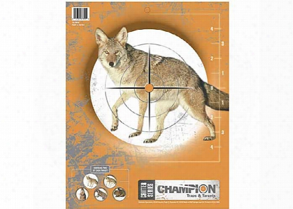 Champion Critter Series Targets, 11x14 - 10pk