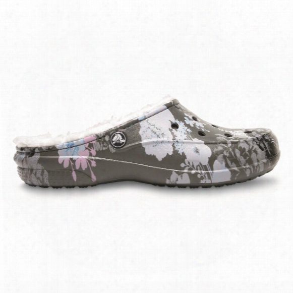 Crocs Women's Freesail Graphic Lined Clogs