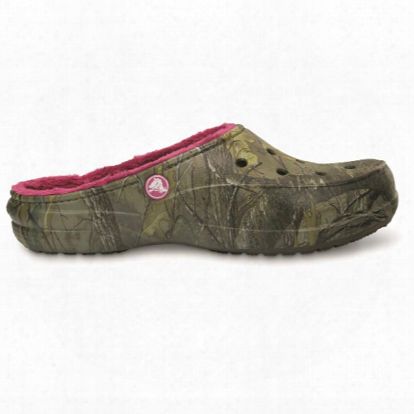 Crocs Women's Freesail Realtree Lined Clogs
