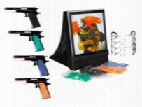 Crosman Airsoft Fun Kit With Zombie Target