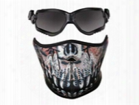 Crosman Elite Forceflex Goggles & Half Predator Mask