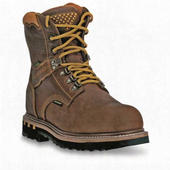 Dan Post Men's Waterproof Scorpion Steel Toe Work Boots