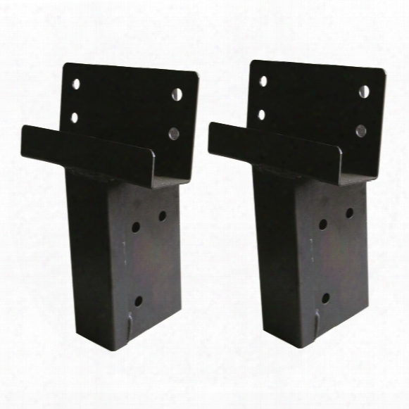 Elevator Elevation Brackets 2x4 Single Angle, 2 Pack