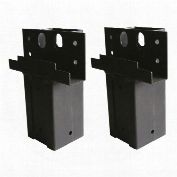 Elevator Elevation Brackets Single 4x4 Angle, 2 Pack