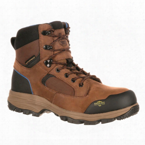 Georgia Boot Men's Blue Collar Waterproof Composite Toe Work Boots
