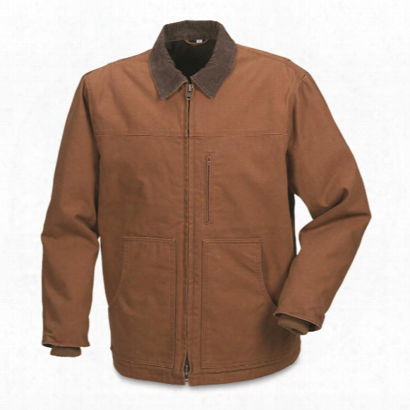 Gravel Gear Men's Washed Duck Insulated Chore Coat