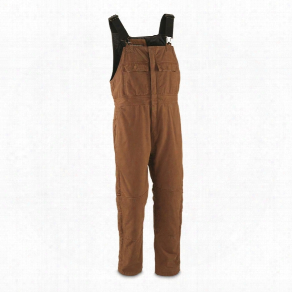 Gravel Gear Men's Insulated Duck Overalls With Teflon