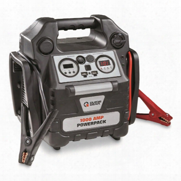 Guide Gear 1,000 Amp Jumpstarter And Portable Powerpack