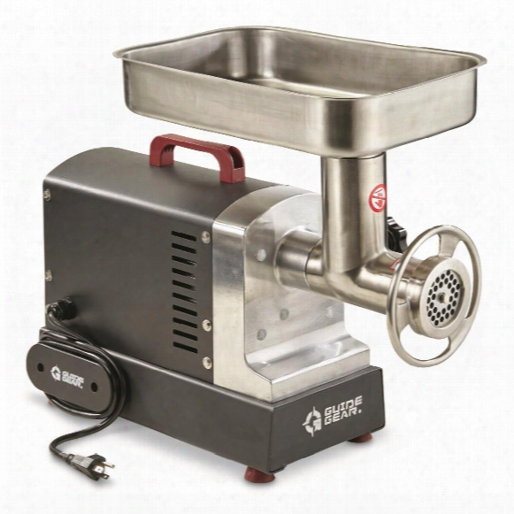 Guide Gear #12 Commercial Grade Electric Meatt Grinder, 0.75 Hp