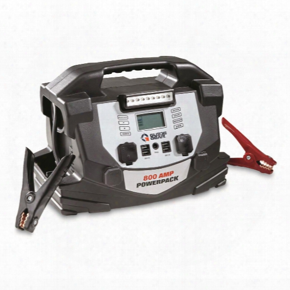 Guide Gear 800 Amp Jumpstarter And Portable Powerpack