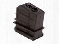 H&k Airsoft Rifle Magazine, Fits H&k Sl9 Aeg Airsoft Rifles, 35 Rds, Black