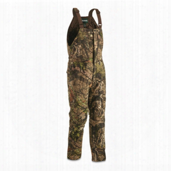 Huntrite Men's Camo Insulated Hunting Bibs