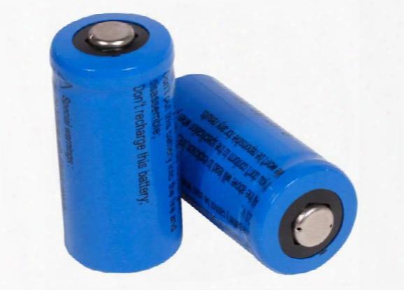 Jy Cr123a 3v Lithium Batteries, 2 Pcs Per Pack