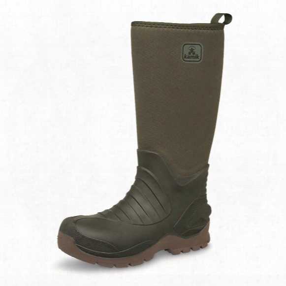 Kamik Huntsman Waterproof Insulated Rubber Hunting Boots