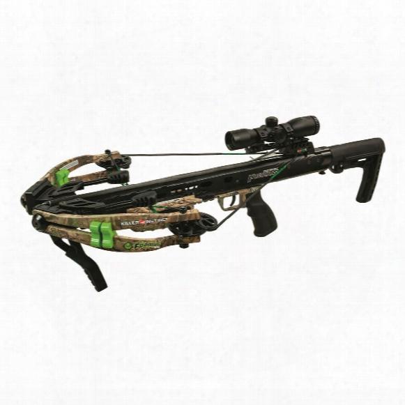 Killer Instinct Michael Waddell's Furious 370 Crossbow Package