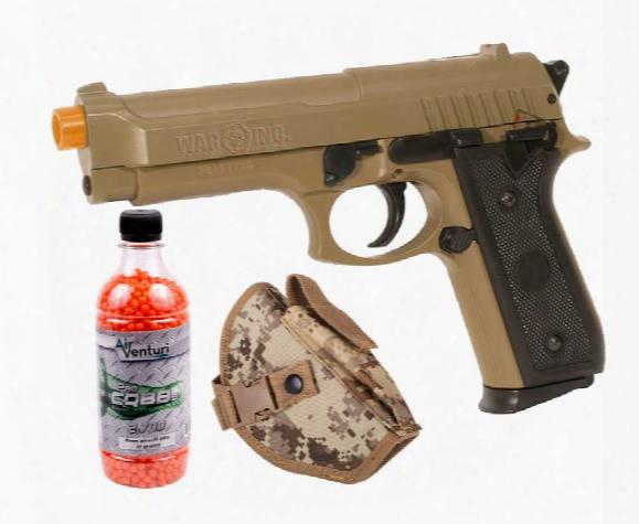 M92 Desert Warrior Airsoft Pistol Kit