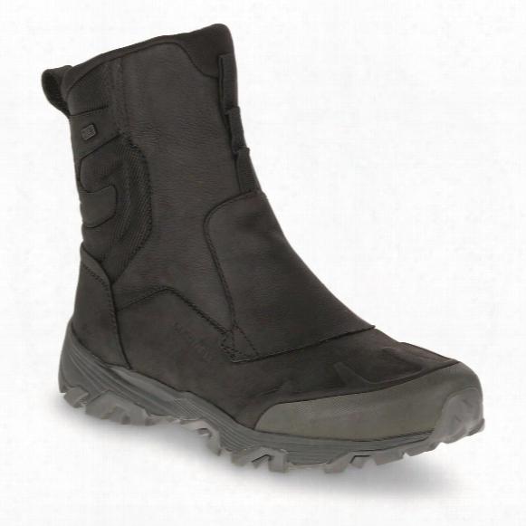 """Merrell Men's Coldpack Ice+ Zip Polar Waterproof 8"""" Winter Boots"""