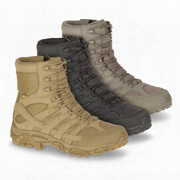 "Merrell Moab 2 Men's 8"" Waterproof Tactical Boots"