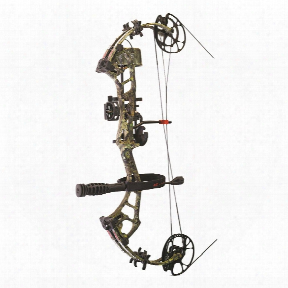 Pse Brute Force Lite Compound Bow, Ready To Shoot Package, Right Handed, 70-lb. Draw