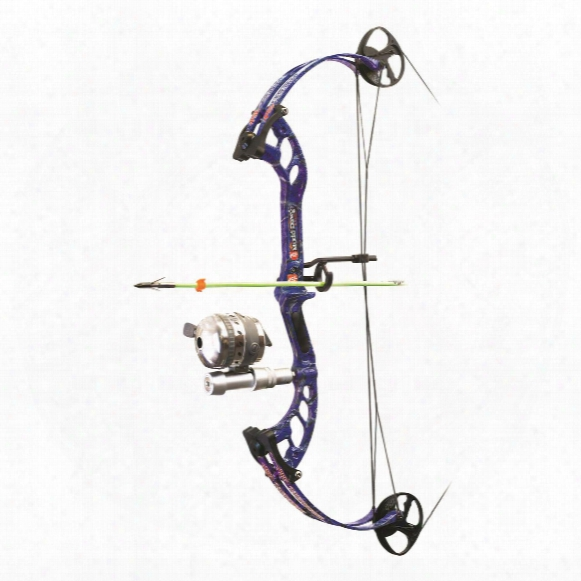 Pse Mudd Dawg Bowfishing Package, 40-lb., Muzzy Reel, Right Hand
