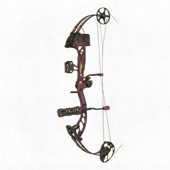 Pse Stinger X Stiletto Compound Bow, Ready To Shooot Pro Package, Right Handed, 50-lb. Draw