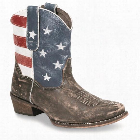 Roper Women's American Beauty Western Boots