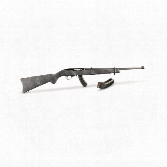 "Ruger 10/22 Kryptek Typhon, Semi-auto Matic, .22lr, 18.5"" Barrel, 25+1 Plus 15 Rounds"