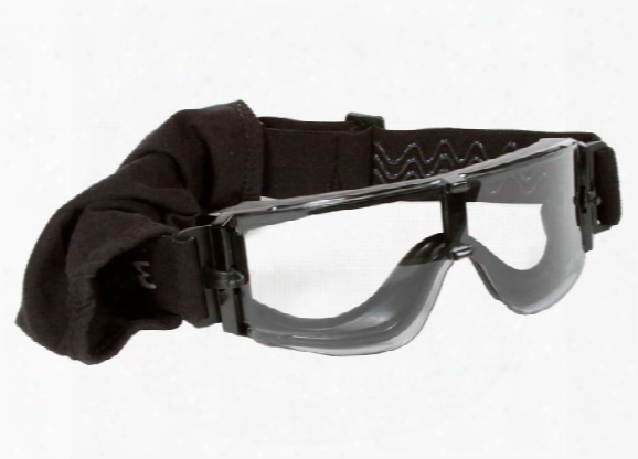 Save Phace Grunt Series Tactical Goggles, Black/clear Lens